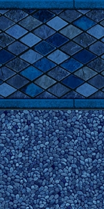 Hydra-Blue-Diamond pool liner