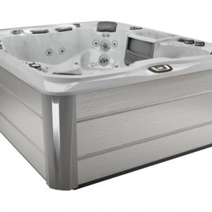 Sundance Spas Aspen 6-7 Person Spa in Platinum Brushed Gray